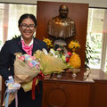 Ms. Jiratha Kongtanajumpol (นางสาว จิรฐา คงธนจุมพล  สาขาวิชาการจัดการท่องเที่ยว  ศิลปศาสตร์บัณฑิต ชั้นปีที่ 3 )