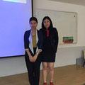 Ms.Pitchaya Janbamrung[พิชญา จันทร์บำรุง] & Ms. Kaewta Nilsodsai[แก้วตา นิลสดใส]