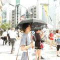 Japan im Sommer ist heiß