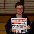 Dieser Stammgast möchte wieder nach Japan