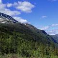 Rjukan zu Fusse des Gaustatoppen