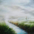 Take me to the River 120x120cm