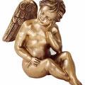 Ange en bronze