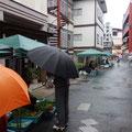 今日も朝から雨です。今日も登山も中止で、私は瀬見温泉や鳴子温泉を散策することに