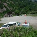今日は只見線沿いを進み喜多方経由で裏磐梯に入ります。まずは浅草岳登山口の偵察です。以前はここに田子倉駅があったそうです。
