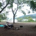 喜多方経由で裏磐梯の桧原湖北側にある早稲沢キャンプ場に到着です。MTC設立当初の2016年夏に一度来てます