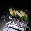 道の駅でアスパラを買ったので豚肉で巻いて焼いてみます!