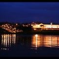 Derry - The Waterside bei Nacht