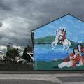Belfast - Shankill, das protestantische Viertel