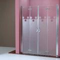 """MAMPARA DE DUCHA MODELO """"NOVAPLUS-4"""". Frontal de ducha con 4 hojas pleglables."""
