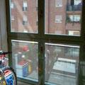 Cerramiento de terraza en aluminio con rotura de puente térmico de 75 mm