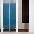"MAMPARA DE DUCHA MODELO ""ARTNOVA-2"". Frontal de ducha con 2 hojas abatibles 180º."