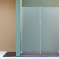 "MAMPARA DE DUCHA MODELO ""NOVACLASSIC-2"". Frontal de ducha con 2 hojas abatibles."