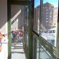 Contraventanas correderas para terraza