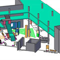 3 D Plan für den Ausstellungsort Bonn |