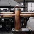 schlichte Kupferanlage mit 6 Zapfhähnen