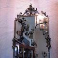 Spiegel in Zinn