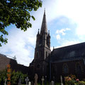 die St. Andrews Kirche von aussen