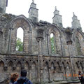 die inzwischen verfallene Abtei - sie muss beeindruckend gewesen sein