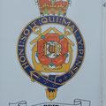 das Wappen, welches überall auf der Britannia zu finden ist