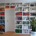 Regalwand / Bücherregal