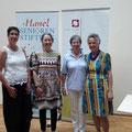 Marlies Menger, Dr. Esther Gajek, Anita Hanel und Kathrin Seyfahrt (v. l.)