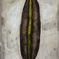 Seed 4 / acrylic, ink on paper, 50x70cm, 2004