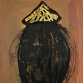 Seed 5 / acrylic, ink on paper, 50x70cm, 2004