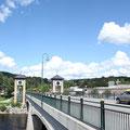 Eine schöne Brücke über den Gomma
