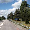 Die Grenze Schweden Norwegen
