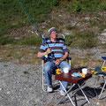 Der Angler aus Ostfriesland.
