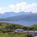 Berge am Atlantic Road und Stellplätze Für Wohnmobile