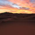 An imaginary image memory. Sahara Desert.