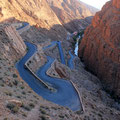 All road lead to rome. Dades Gorges. Morocco