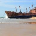 Like a drunken boat. White Cap. Nouadhibou. Mauritania.