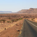 Lost on the road of our desires. Road of hope. Border between Mauritania and Mali.