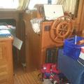 Alles wurde der Arbeit am Boot unter geordnet