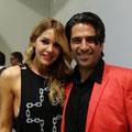 DJ Tatjana La Croix und Andre Roger