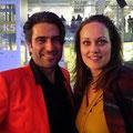 Andre Roger und Tanja Gutmann, Schauspielerin