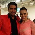 Andre Roger und Amanda Ammann