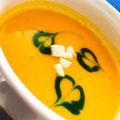チョイスのスープは日替わりのポタージュ(写真はかぼちゃ)