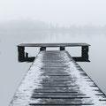 Burgäschi See im Nebel, Dezember 2013