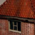 Die vor vielen Jahren montierten Dachrinnen