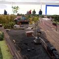 Noch einmal das BW mit dem Bahnhofskopf in Richtung Rahden