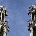 Denn auf welcher Kathedrale stehen schon Ochsen?
