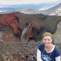 Vor dem Red Crater...