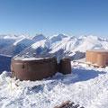 Da kann man sogar Whirlpools an der Hütte mieten... ist das nicht dekadent????