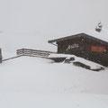 Die Schneegrenze lag bei 1.300m.