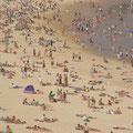 Ich nehme an dieser Stelle zurueck, dass der Strand von Surfers paradise ueberladen war...