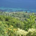 Blick von Chlomos ausfs Meer